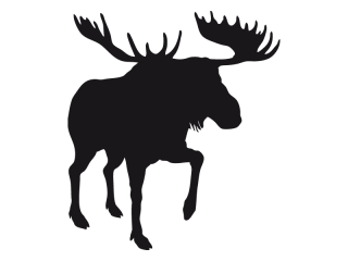 Stickers moose