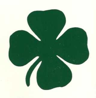 Sticker Shamrock