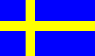 Sticker sweden flag